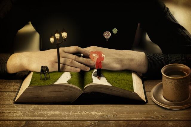 本の世界の画像