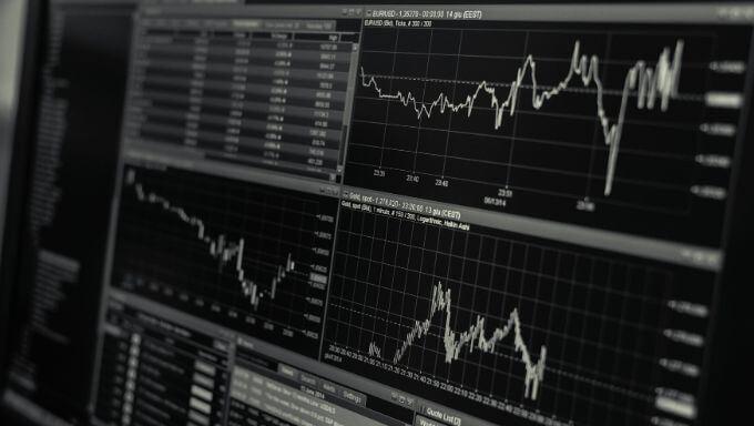 株価の値動きの画像